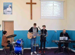 Worship at Startford Chapel
